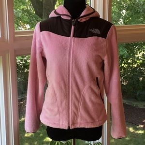 The north face fleece woman's hoodie